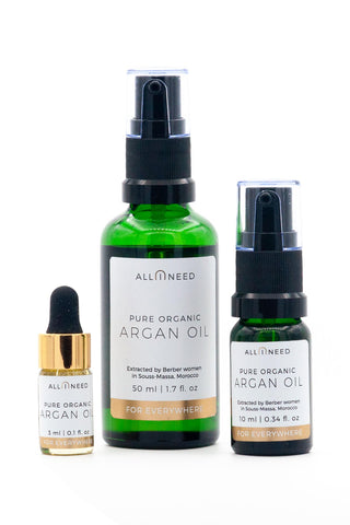 organic argan oil all i need