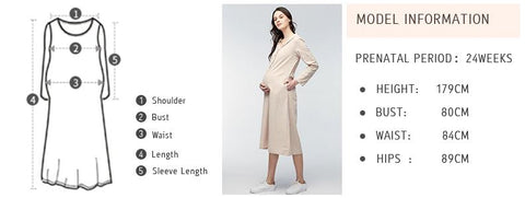 Maternity Dresses - How to measure