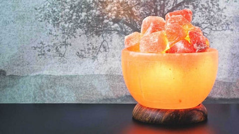 InCrate Himalayan Salt Lamp