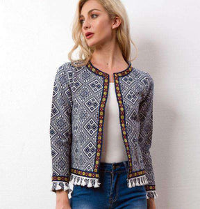 Bohemian Embroidered Jacket