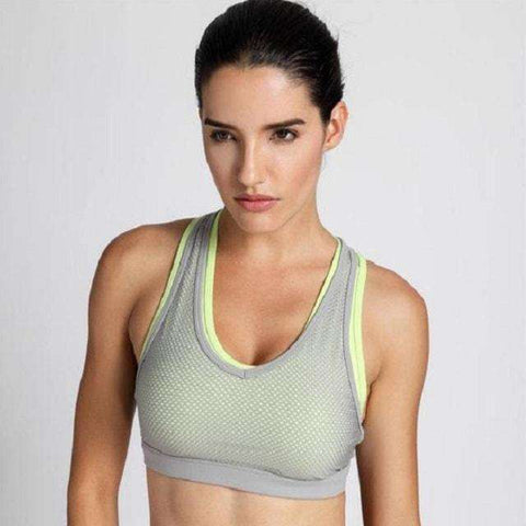 Image of Double Layer Crochet Mesh Bra-Sports Bra-Multicoloure02-M-InCrate.store