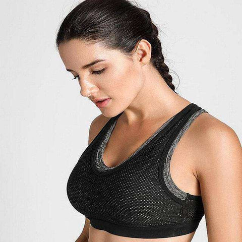 Image of Double Layer Crochet Mesh Bra-Sports Bra-Multicoloure02-XS-InCrate.store