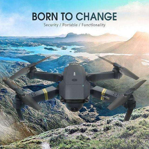 Image of Drone Quadcopter X PRO-Drone-0.3MP x 1 Battery-InCrate.store