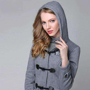 Hooded Winter Parka Jacket