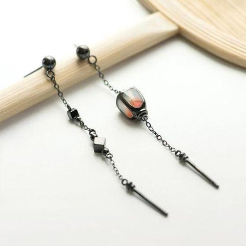 Palace Lantern Drop Earrings-Earrings-InCrate.store