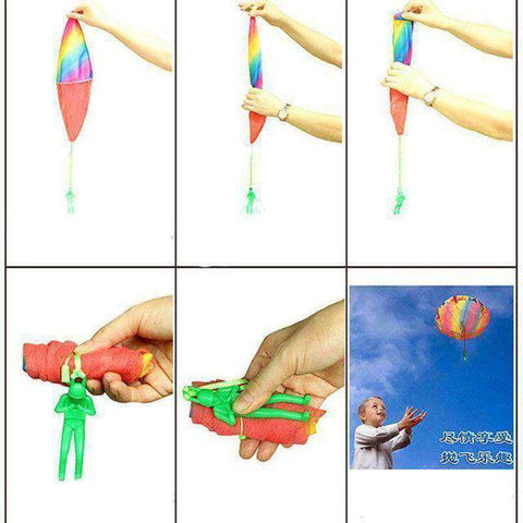 5 sets of Kids Hand Throwing Parachute Toy-Boys & Girls-InCrate.store