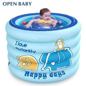 Inflatable Swimming Pool for Baby-Babies & Kids-Blue Elepant-InCrate.store