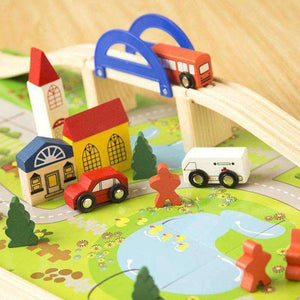 City Traffic Wooden Toy