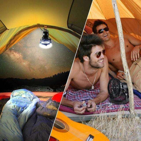 Camping Lantern with Ceiling Fan-Camping Lamp-InCrate.store