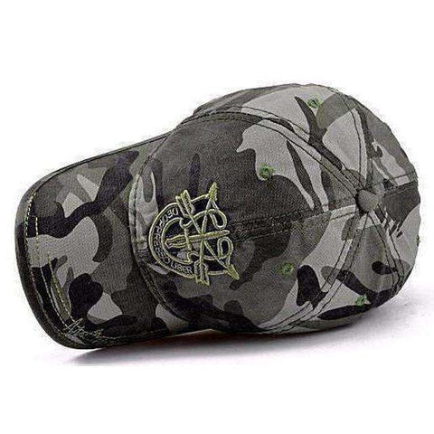 Image of Army Camo Cap-Caps-Black-InCrate.store