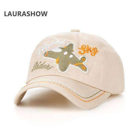 Children's Sky Rider Cap-Caps-3 Cotton-InCrate.store