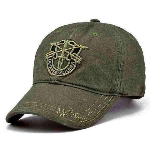 Image of Army Camo Cap-Caps-Army Green-InCrate.store