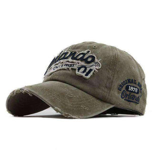 Orlando Baseball Cap-Caps-F111 Khaki-Adjustable-InCrate.store