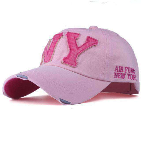 NY Army Baseball Cap-Caps-F2 PINK-Adjustable-InCrate.store