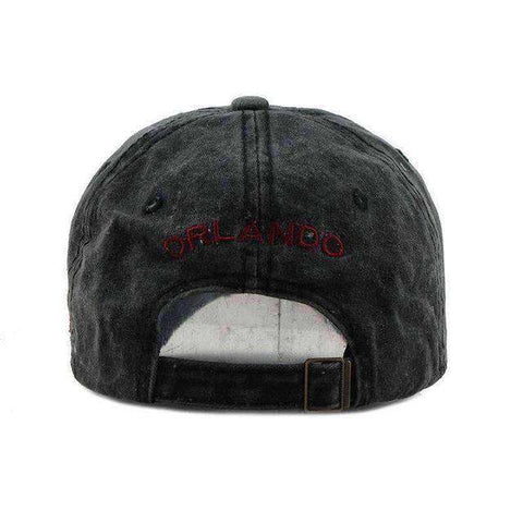 Orlando Baseball Cap-Caps-F111 Black-Adjustable-InCrate.store