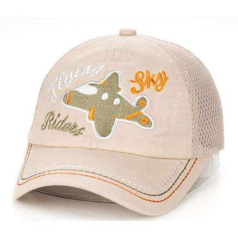 Children's Sky Rider Cap-Caps-1 Cotton-InCrate.store
