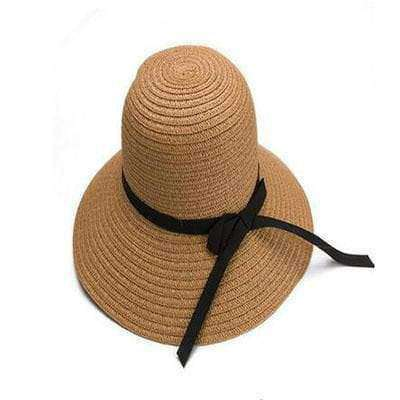 Image of Large Brimmed Straw Hats-Hats for Her-3-InCrate.store