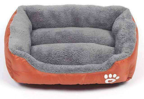 Paw Pet Sofa-Pet Supplies-Orange-S 42x32cm-InCrate.store