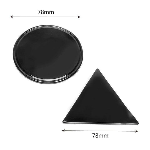 Image of Sticky Gel Pad-Gift Ideas-Black Triangle-InCrate.store