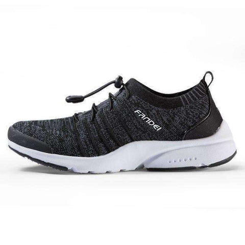 Breathable Women Running Shoes-Women Running Shoes-Carbon Black-5.5-InCrate.store