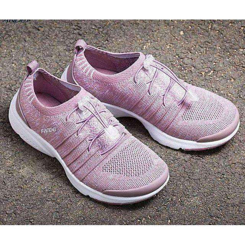Breathable Women Running Shoes-Women Running Shoes-Violet-5.5-InCrate.store