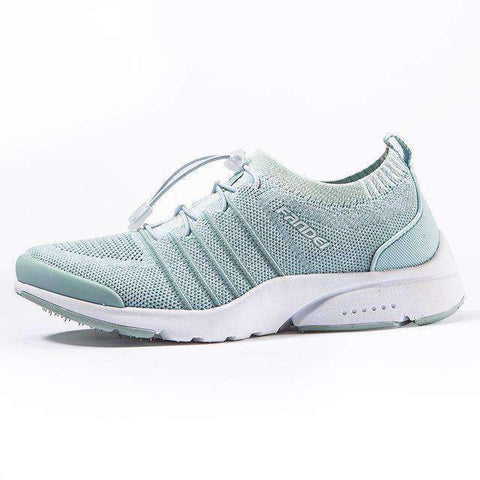 Breathable Women Running Shoes-Women Running Shoes-Light Green-9.5-InCrate.store