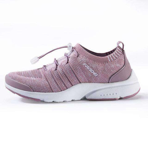 Breathable Women Running Shoes-Women Running Shoes-Lotus Pink-5.5-InCrate.store