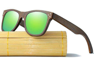 Polarized Wooden Sunglasses (4 Colors) (Unisex)