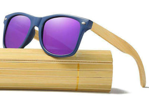 Polarized Wooden Sunglasses (Unisex)