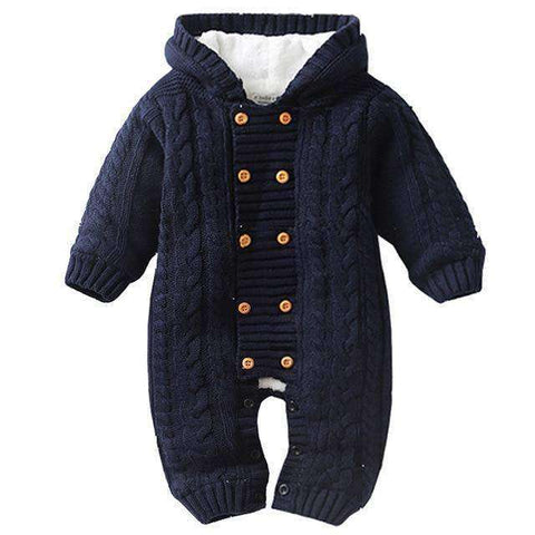 Thick Hooded Baby Rompers-Babies & Kids-Navy Blue-3M-InCrate.store