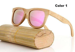 Men's Polarized Bamboo Sunglasses (16 colors)