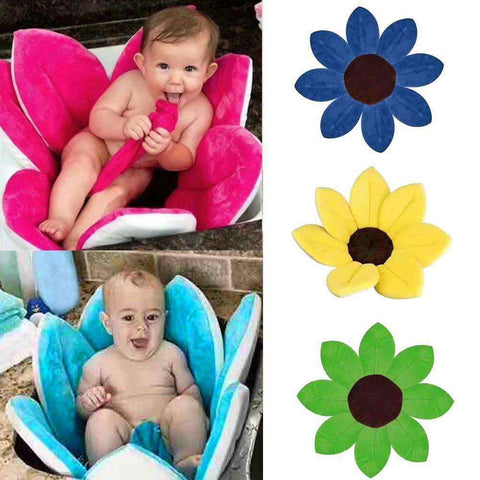 Newborn Baby Blooming Bath Tub-Babies & Kids-Blue-InCrate.store