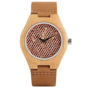 Women Ebony Wooden Watch
