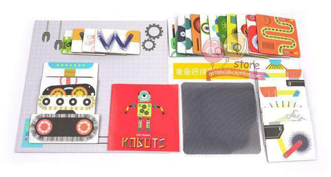 Amazing Science Dream Factory-Boys & Girls-Grating Robot Puzzle-InCrate.store