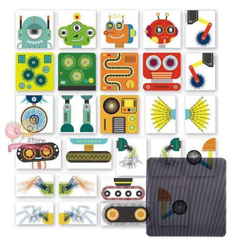Image of Amazing Science Dream Factory-Boys & Girls-Grating Robot Puzzle-InCrate.store