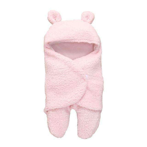 Newborn Baby Swaddle Wrap-Babies & Kids-Pink-InCrate.store