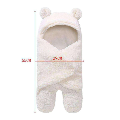 Newborn Baby Swaddle Wrap-Babies & Kids-White-InCrate.store