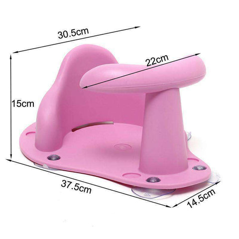 Baby Bath Tub Ring Seat (4 Colors)-Babies & Kids-Pink-InCrate.store