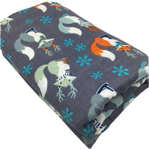 100% Bamboo Fiber Swaddle Blanket-Babies & Kids-InCrate.store