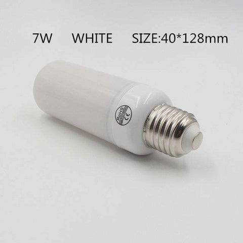 LED Flame Lamps-Lighting-7W White Shell-E14-InCrate.store