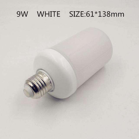 LED Flame Lamps-Lighting-9W White Shell-E14-InCrate.store