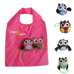 Cute Owl Shopping Bags