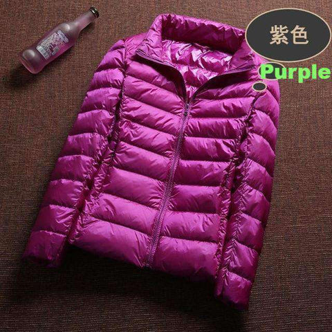 Ultra Light Windbreaker-Women's Clothing-Purple-XXL-InCrate.store