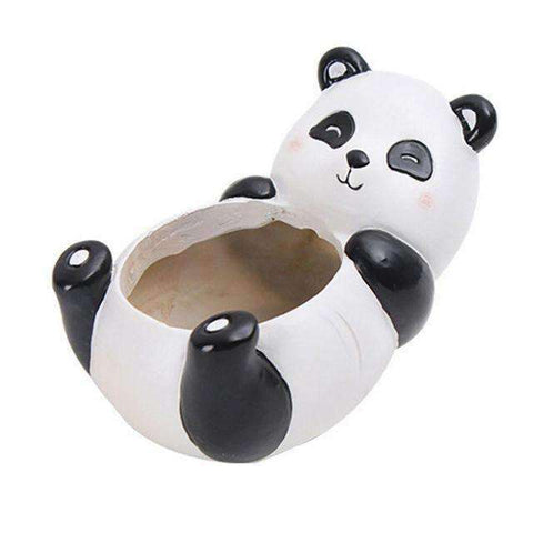 Cute Animal Planters-Gift Ideas-Panda-One size-InCrate.store