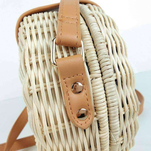 Image of Handmade Rattan Handbags-Bags-A-InCrate.store