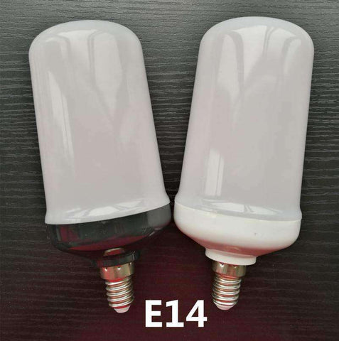 LED Flame Lamps-Lighting-7W Black Shell-E14-InCrate.store