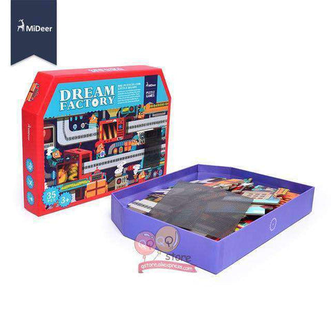 Amazing Science Dream Factory-Boys & Girls-Dream Factory Puzzle-InCrate.store