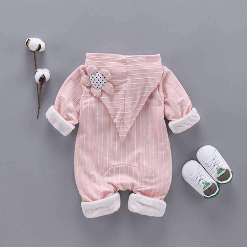 Fashion Baby Girls Romper-Babies & Kids-Pink-3M-InCrate.store