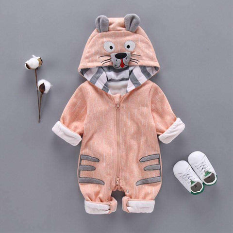 Tiger Baby Romper-Babies & Kids-Gray-3M-InCrate.store
