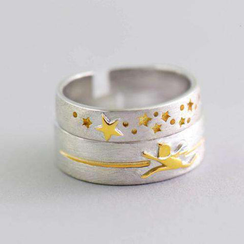 3D Chasing Stars Rings-Rings-Resizable-Chasing People-InCrate.store